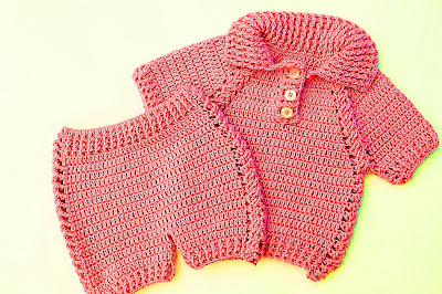 7 - Crochet IMAGEN pantalon a juego con jersey a crochet muy facil y rapido MAJOVEL CROCHET
