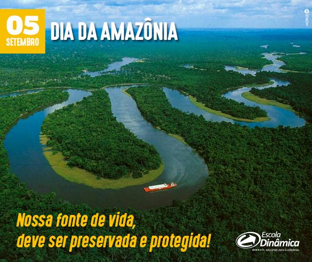 5 de setembro - Dia da Amazônia