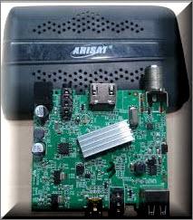 فلاشة الاصلية ARISAT AR2000 minihd الاسود معالج مونتاج
