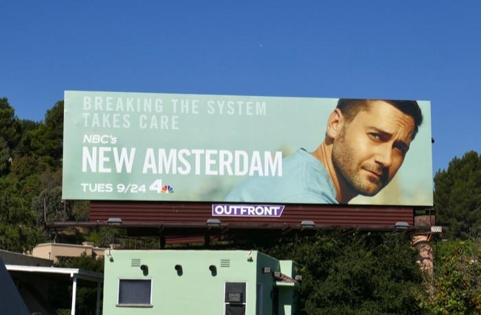 New Amsterdam season 2 NBC billboard