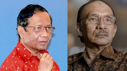 Berduka M Assegaf Wafat, Mahfud MD: Dia Dulu Dipecat dari PAN karena Membela Soeharto