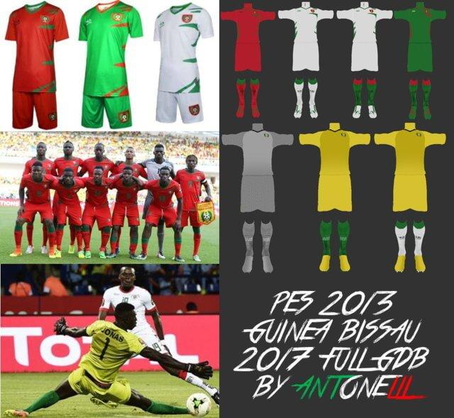 Guinea Bissau 2017 Kit PES 2013