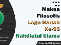 Makna Filosofis Logo Harlah Ke-95 Nahdlatul Ulama (NU) Tahun 2021