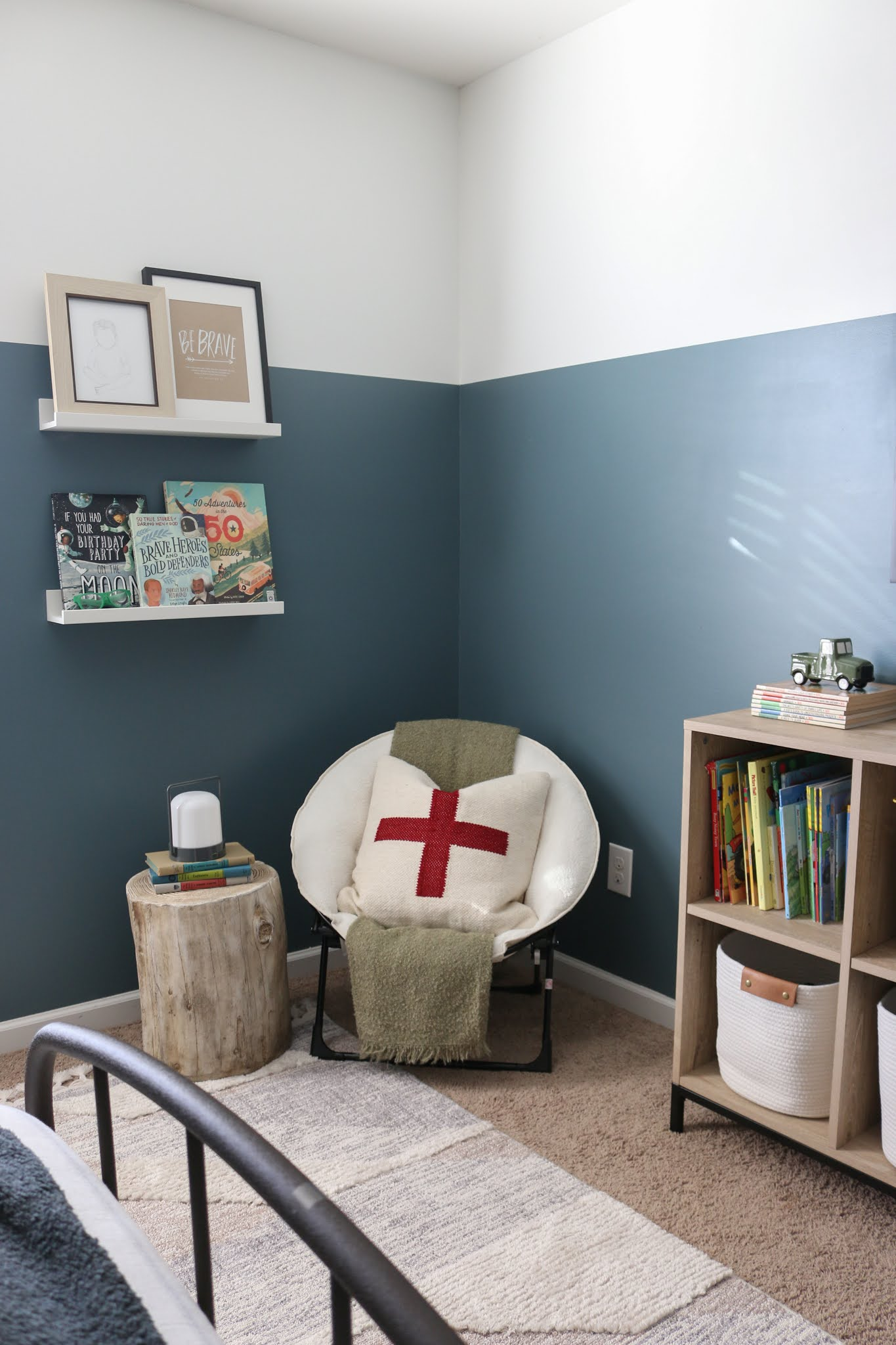 A Classic Modern Room for Dax + How To Design A Kid's Room that You'll Both Love!