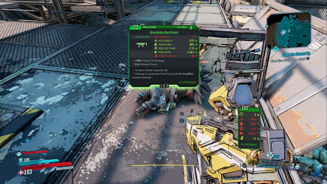 Screenshot Gameplay Borderlands 3