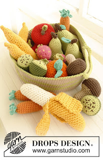 Panier de fruit au crochet