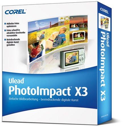 PHOTOIMPACT GRATUIT X3 ULEAD TÉLÉCHARGER