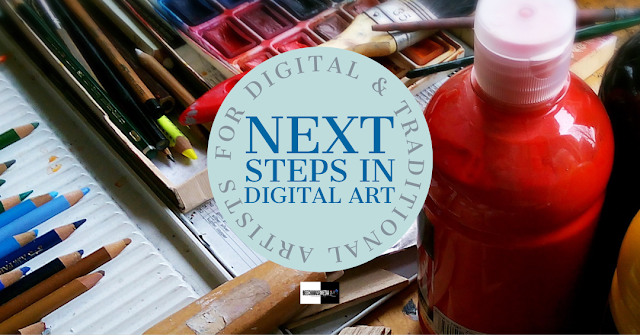 Next steps in digital art title image