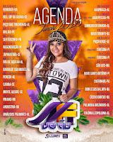 Agenda Shows 2016 Márcia Fellipe Janeiro Fevereiro