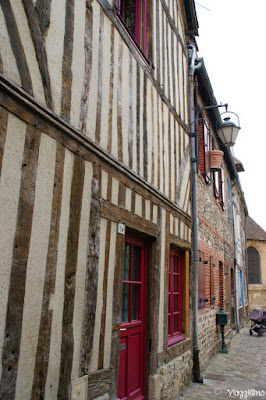 Abitazioni a graticcio nel centro di Honfleur
