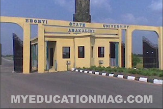 List of Courses Offered in Ebonyi State University