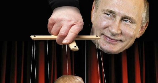Image result for putin marionetting trump