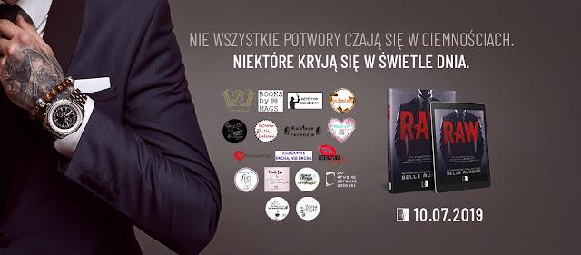 """PRZYPOMINAJKA! """"RAW""""! - patronat medialny Detektywa Książkowego"""