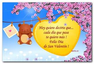 Mensajes de san Valentín en imagenes