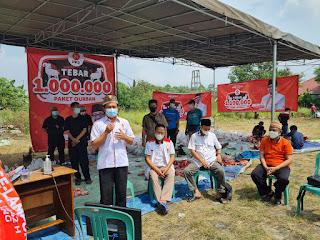 Sukseskan Gerakan Tebar 1 Juta Paket Kurban, PKS Lampung Potong 368 hewan kurban