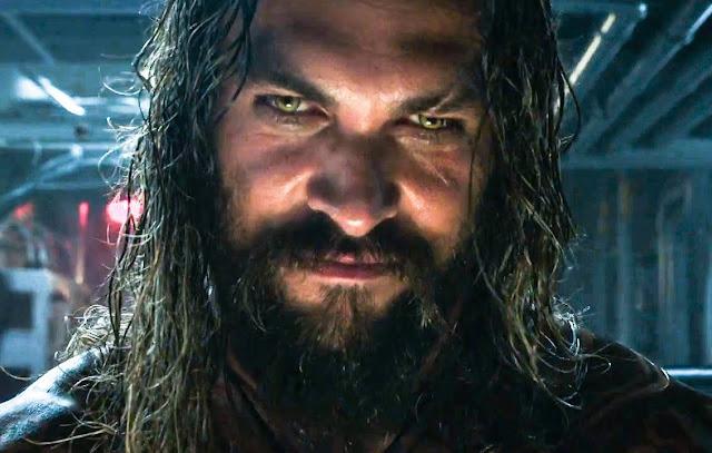 """Mais ação e cenas inéditas no comercial de """"Aquaman"""""""
