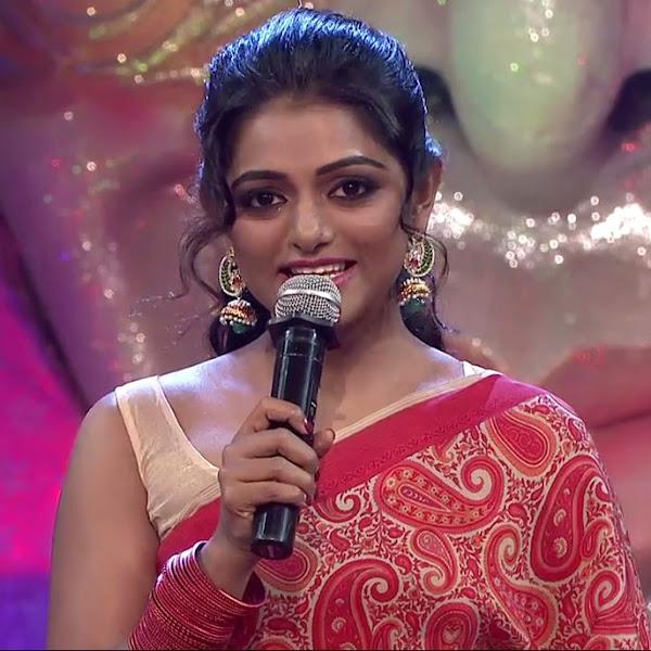 Meera Anil latest photos in saree
