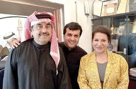 سعاد عبدالله وزوجها 4 3