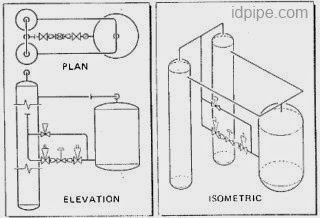 Gambar Isometri Pipa Piping Isometric Drawing Himpunan Mahasiswa