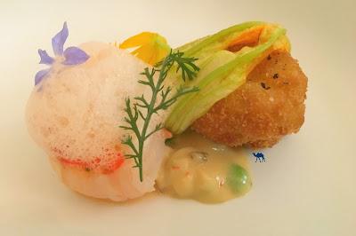 Le Chameau Bleu - Restaurant gastronomique japonais Neige d'été Paris
