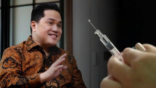 """Berpeluang di 2024, Wajar Erick Thohir Enggan Jadi """"Kelinci Percobaan"""" Vaksin China"""