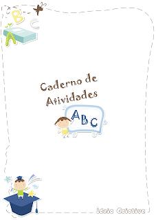 Atividades com letras do alfabeto