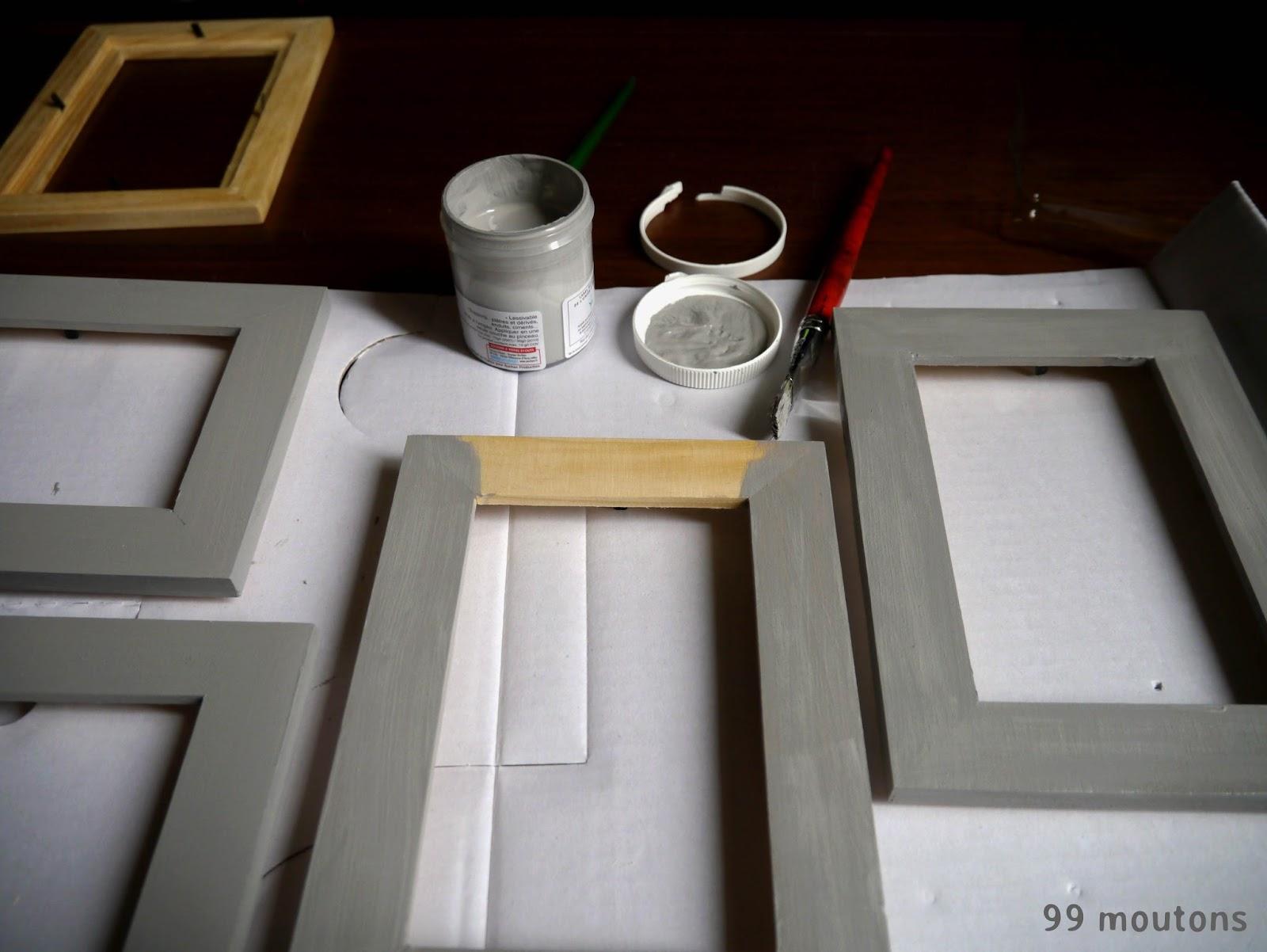 le multicadre multiphotos tuto 99 moutons. Black Bedroom Furniture Sets. Home Design Ideas