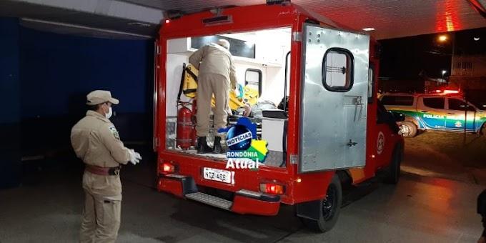 Ji-Paraná – Comerciante  é baleado por criminoso durante assalto