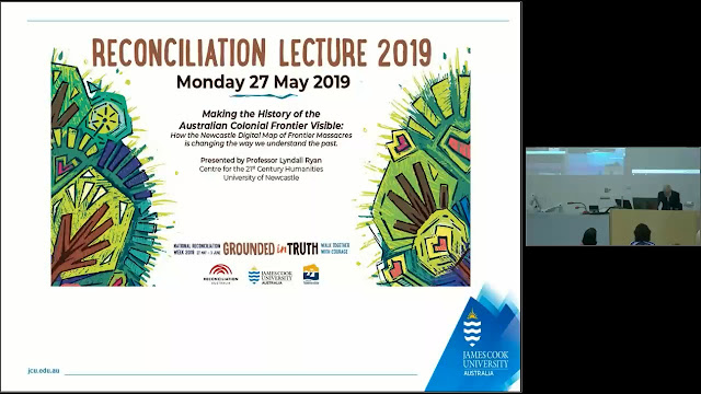 Click on this image to click through to the lecture in NQHeritage@JCU