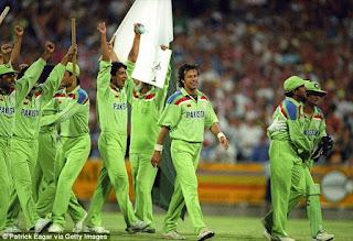 England vs Pakistan Benson & Hedges World Cup Final 1992 Highlights
