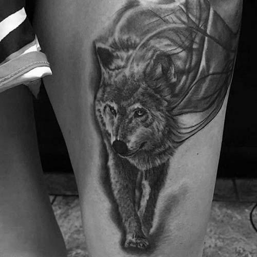 erkek üst bacak dövme modelleri man thigh tattoos 5