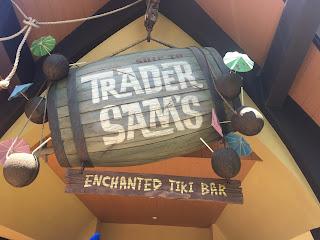 Trader Sam's Enchanted Tiki Bar Sign Disneyland Hotel