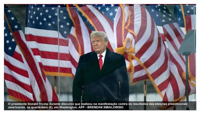 """Pela primeira vez após derrota, Trump promete """"transição ordenada"""", mas rejeita resultado das eleições"""