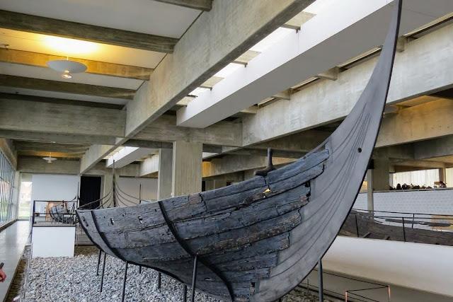 Winter in Copenhagen: Roskilde Viking Ship Museum