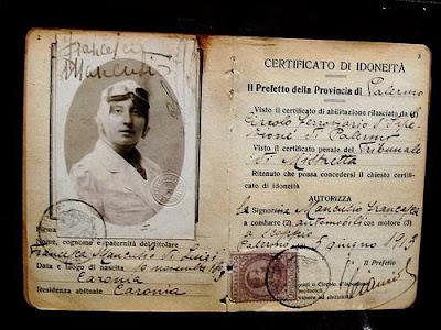 La patente di Francesca Mirabile Mancusio