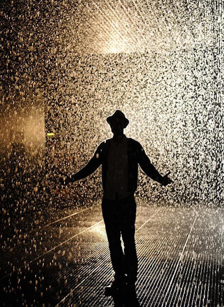 Картинки человек под дождем и нет