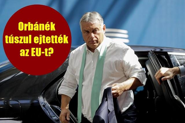 Az amerikai álhírgyárosok szerint Orbán és a lengyelek túszul ejtették az EU-t