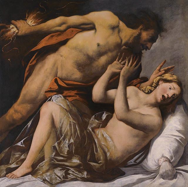 Pietro della Vecchia: Giove e Semele