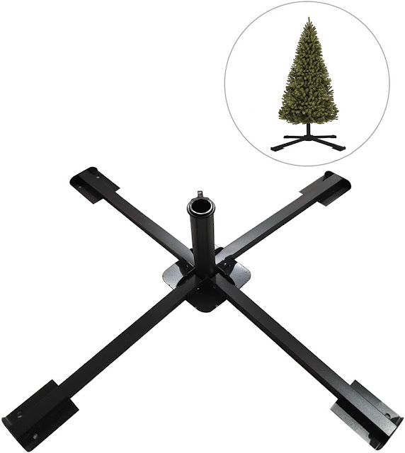 folding artificial Christmas tree stand