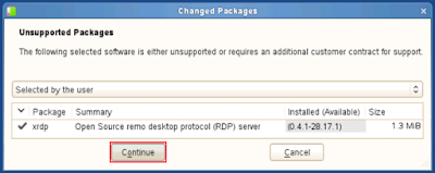 Using Remote Desktop Connection (RDP) to connect to SLES11 SP2
