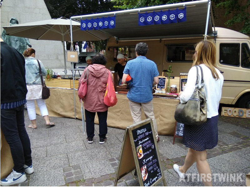 Le Marie Marché market food escape Japanese food stand