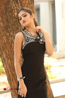Actress Poojitha Pallavi Naidu Stills in Black Short Dress at Inkenti Nuvve Cheppu Movie Platinum Disc Function  0113.JPG
