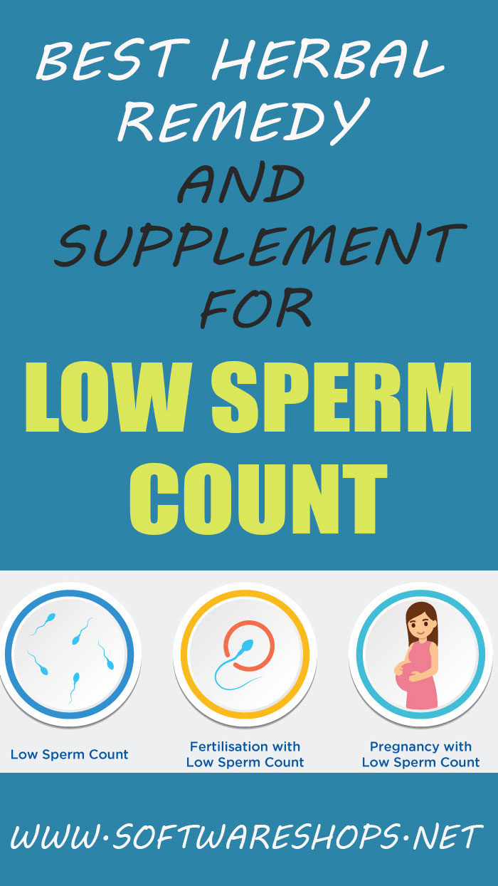 best herbal remedy for low sperm count