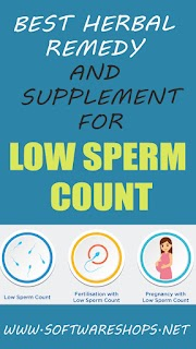 Best Herbal Remedy and Supplement for Low Sperm Count