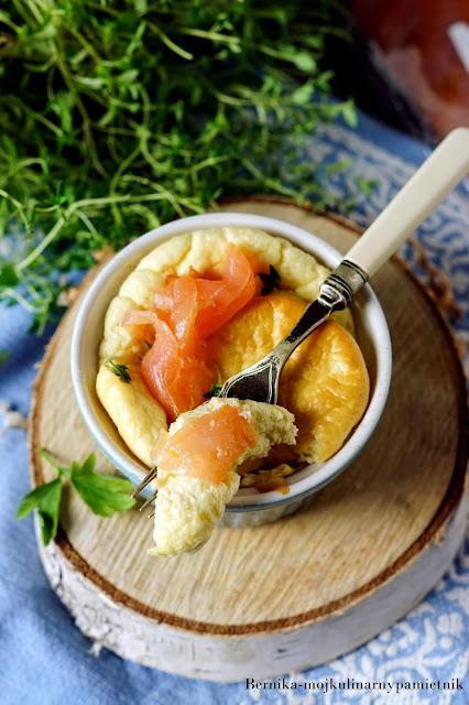 suflet, gorgonzola, losos, bernika, kulinarny pamietnik, sniadanie