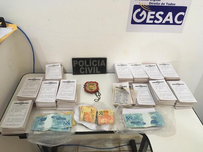 Polícia Civil prende suspeito por promover jogos de azar em Baraúna