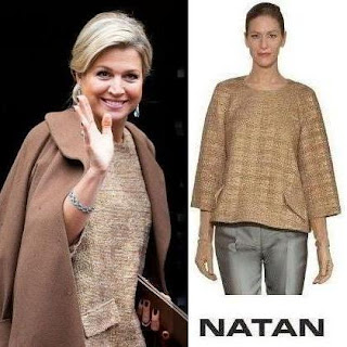 Queen Maxima - NATAN Dress - Style