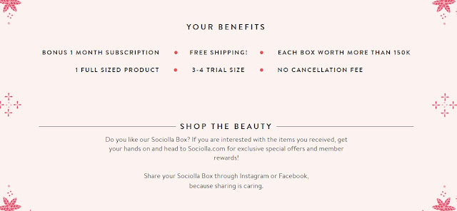 Sociolla Beauty Box | Subscription Box