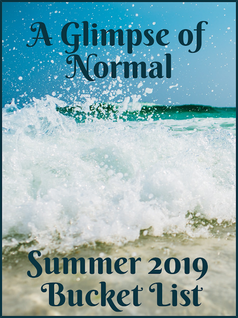 Do you have a list things that you want to do this summer?  I know that I do which is why I created my Summer Bucket list at A Glimpse of Normal.