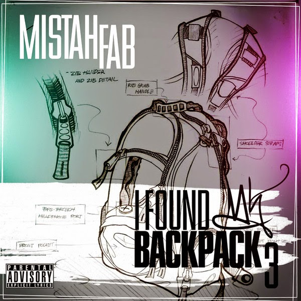 Mistah F.A.B. - I Found My Backpack 3 Cover